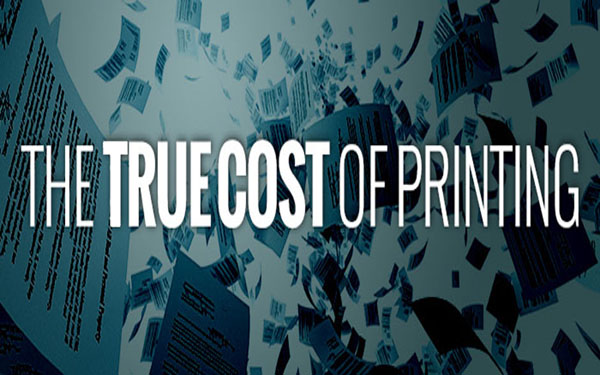 cost of printing