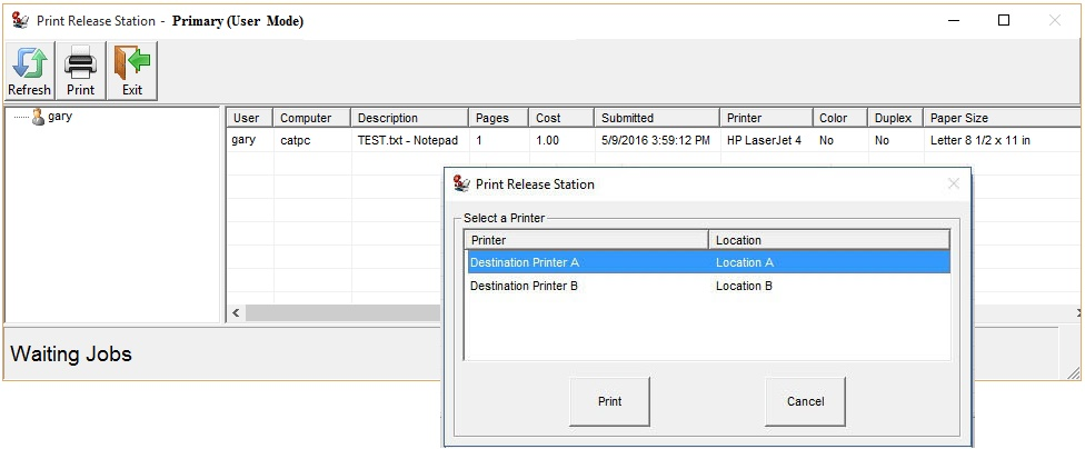 Print Control Software For Libraries And Education